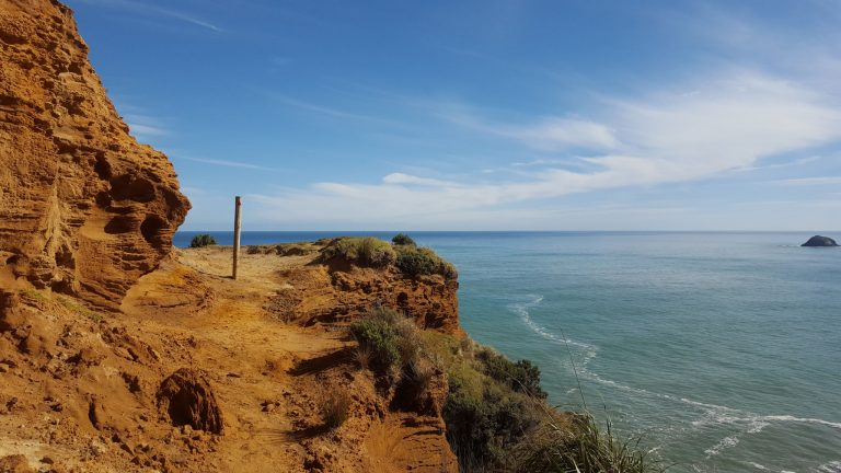 The cliff top walk from Bethells Beach (Te Henga) to south of Muriwai Beach (or reverse) reveals stunning views of Auckland's wild west coast.