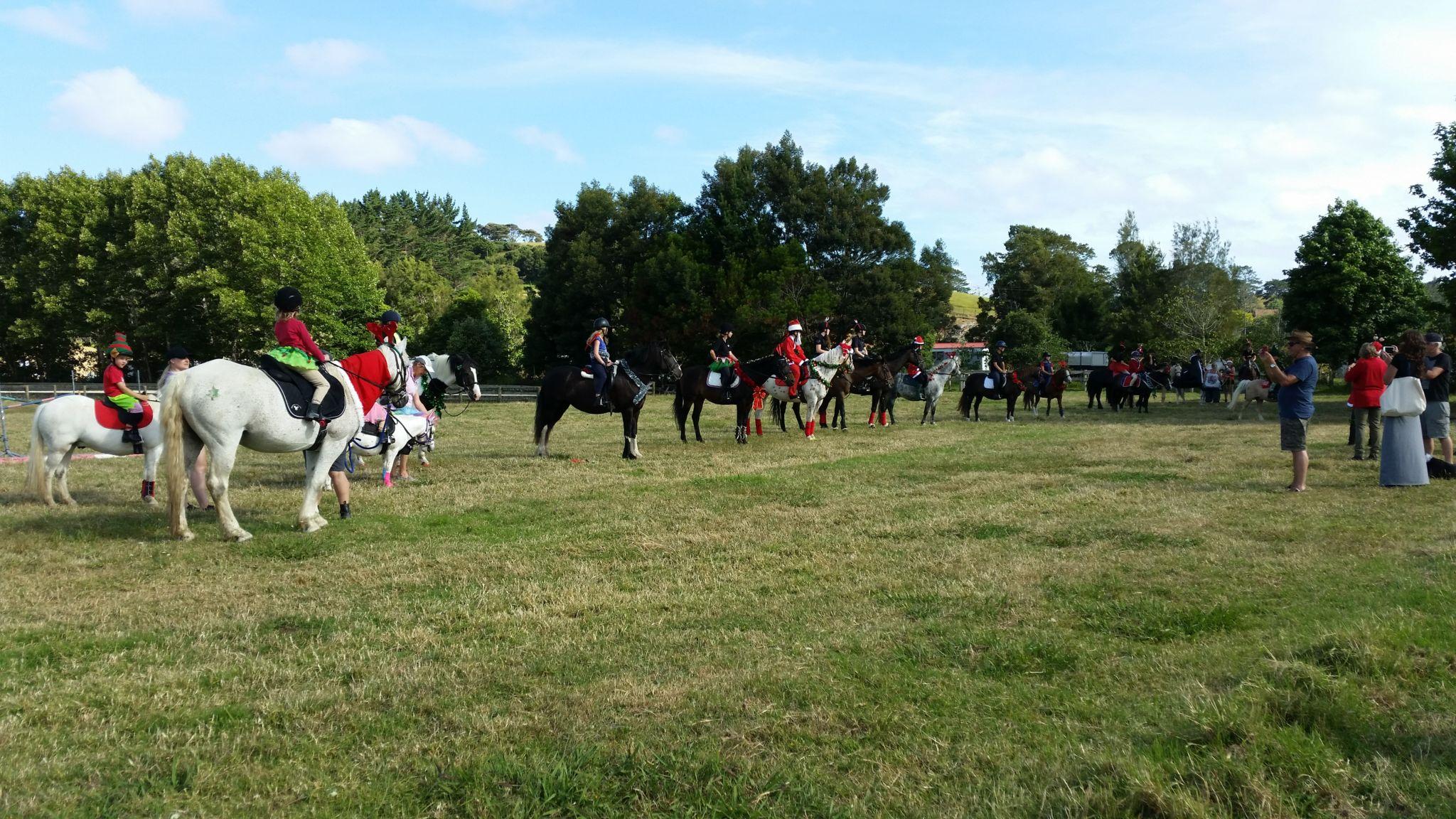 Pony Club line-up