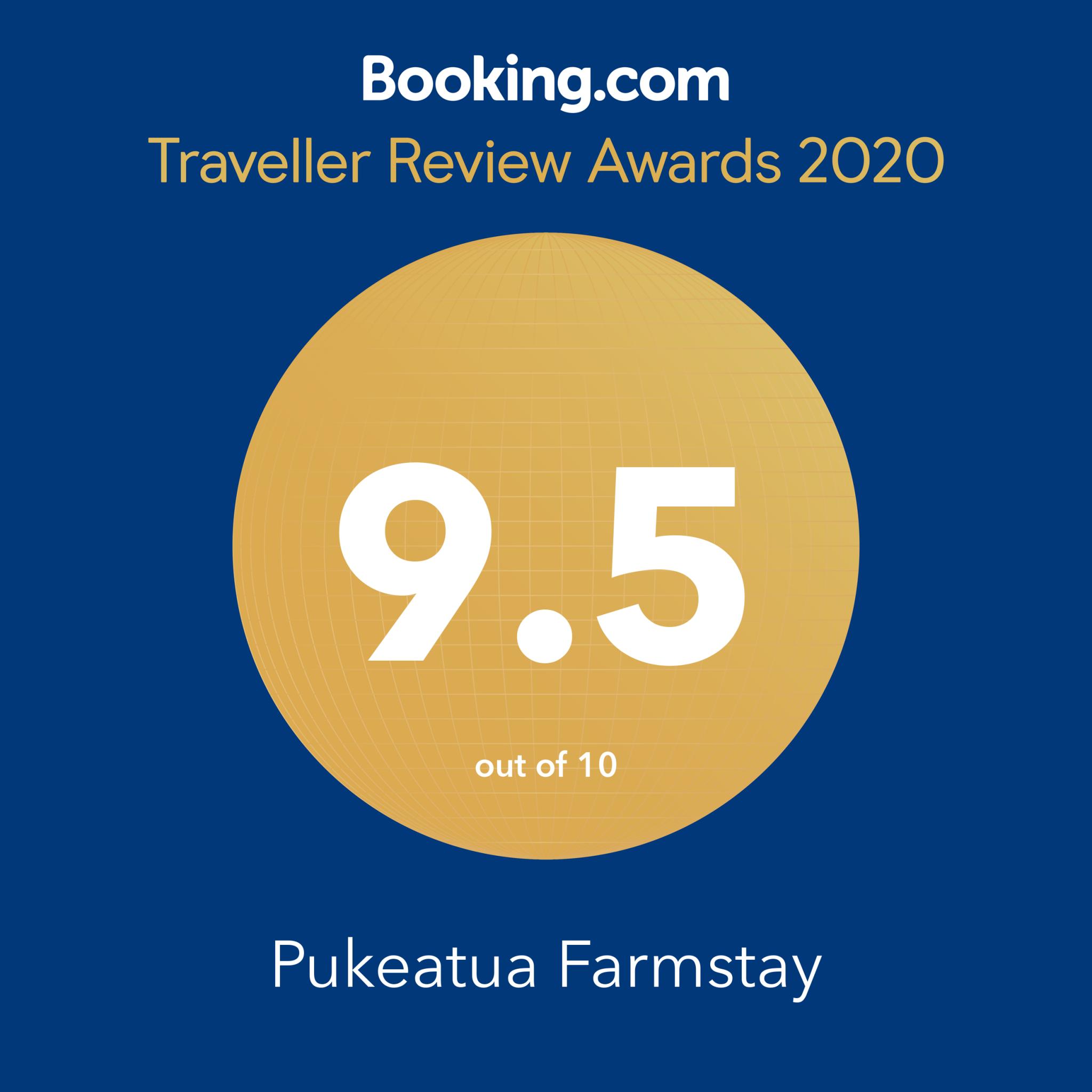 Booking.com Awards 2020: 9.5/10